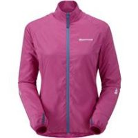 Cortaviento Fem Trail Star Jkt, Persian Rose